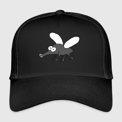 Mosquito Insect | Stinging Mosquitoes Sleeping night - Trucker Cap
