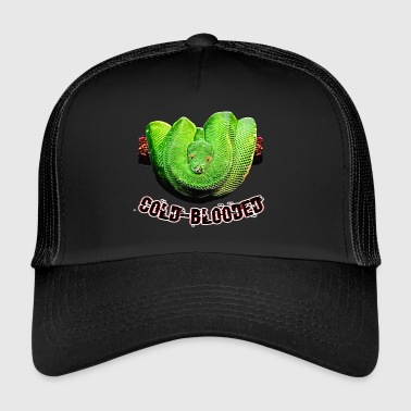 serpente a sangue freddo - Trucker Cap