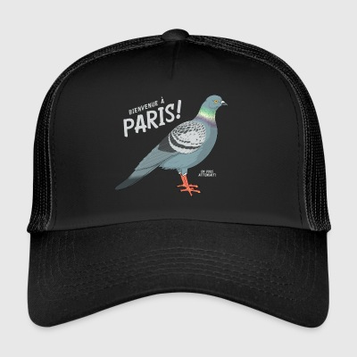 Pigeon Welcome to Paris - Trucker Cap