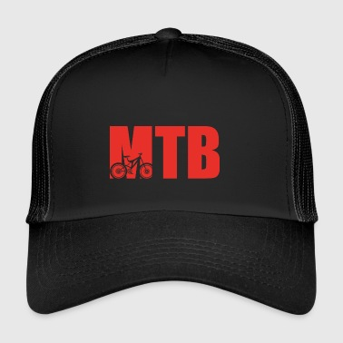 MOUNTAIN BIKE CYCLIST CYCLIST - Trucker Cap