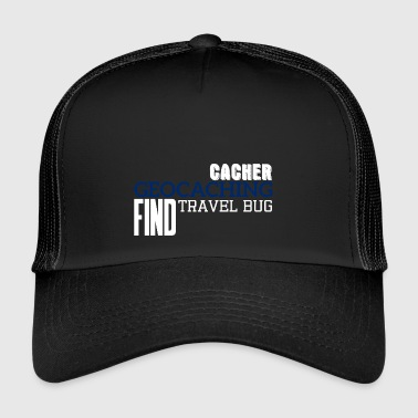 Geocaching, geocache, GPS, hiking, nerd, gift - Trucker Cap