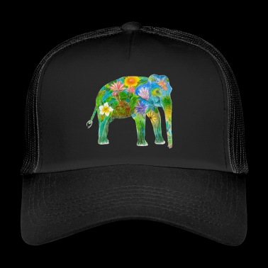 Asian elephant - Trucker Cap