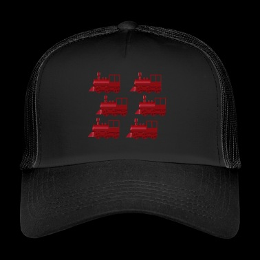 locomotives - Trucker Cap