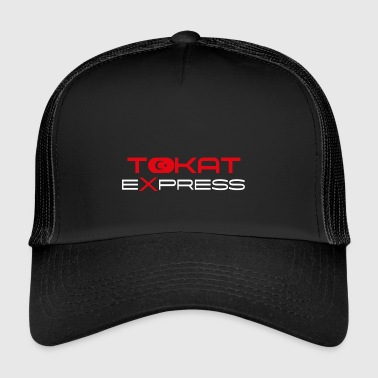 TOKAT express red - Trucker Cap