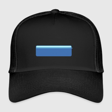 chat bubble right blue big - Trucker Cap