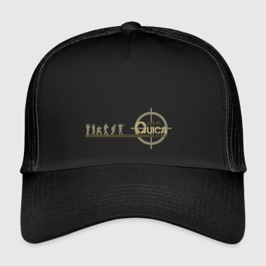 QUICK ARMS LOGO 3 - Trucker Cap