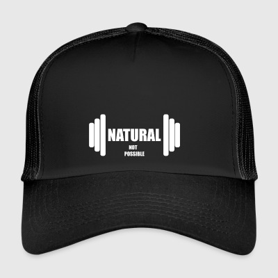 Natural not possible US WHITE - Trucker Cap