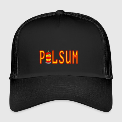 Pilsumer lighthouse logo - Trucker Cap
