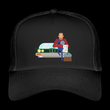 Car Mechanic - Trucker Cap
