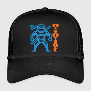 Ninja + Ninjat text - Trucker Cap