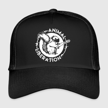 Animal Liberation Squirrel - Trucker Cap