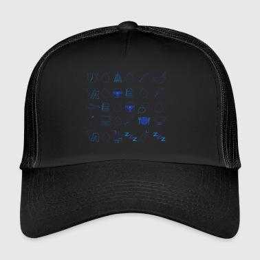 Geben Sie One Day to Day - Trucker Cap