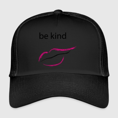 Be kind mund - Trucker Cap