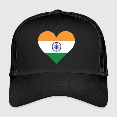 Et hjerte for India - Trucker Cap