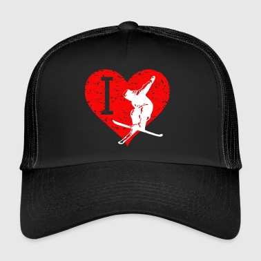 I Love Freestyle Ski 2 - Trucker Cap