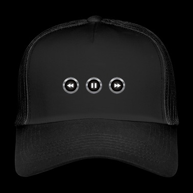 Audio-Steuertasten - Trucker Cap