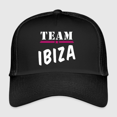 Team Ibiza wit - Trucker Cap