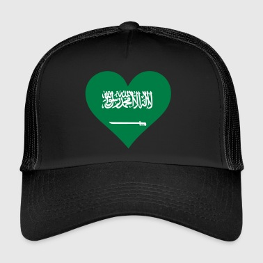 A Heart For Saudi Arabia - Trucker Cap