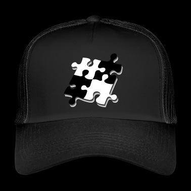 Puzzle pieces - Trucker Cap