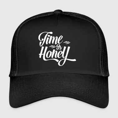 Time is Hony Alternative Lebensweise zum Konsum - Trucker Cap