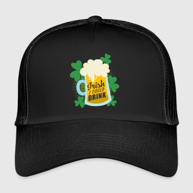 Irish Beer Shirt - Regalo del giorno di San Patrizio - Trucker Cap