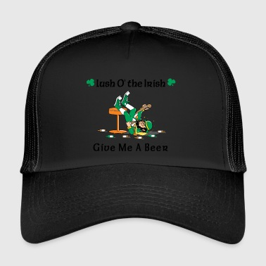 Irish Give Me A Beer - Trucker Cap