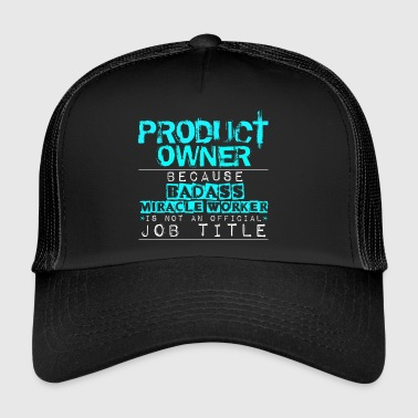 Product Owner - Trucker Cap
