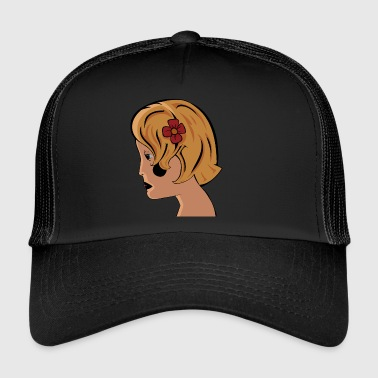 Girl vektori - Trucker Cap