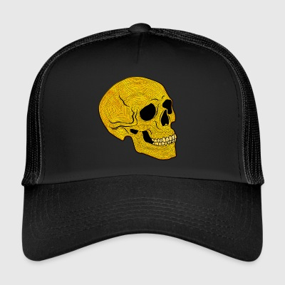 YellowSkull - Trucker Cap