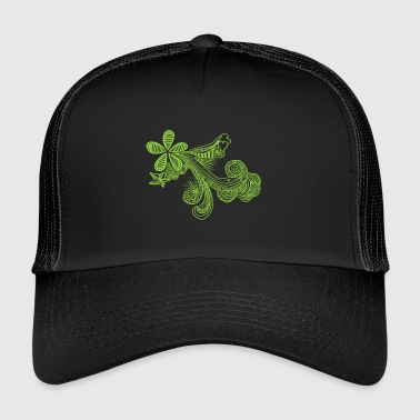 drawing-green - Trucker Cap