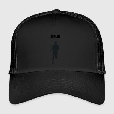 #RUN - Trucker Cap