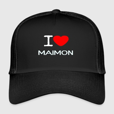 I LOVE MAIMON - Trucker Cap
