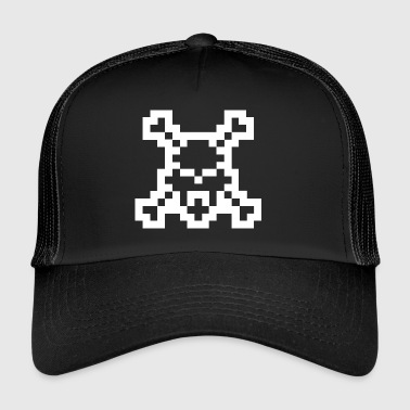 Pixel Head of Death - Trucker Cap