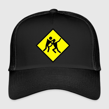 Zombie Attack - Trucker Cap
