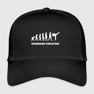 Kickboxing Evolution, gift for Kickboxer - Trucker Cap
