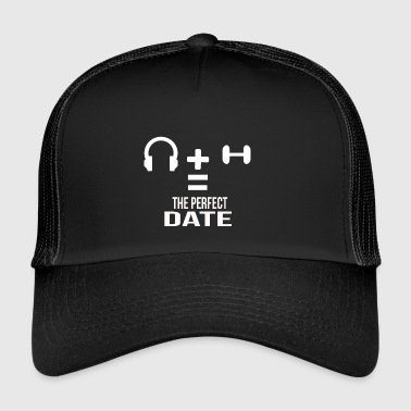 the perfect date - Trucker Cap