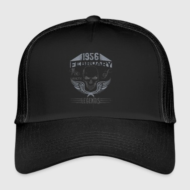 LEGENDS ARE BORN IN FEBRUARY - Trucker Cap