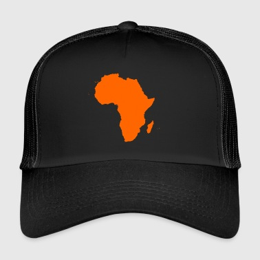 african map - Trucker Cap