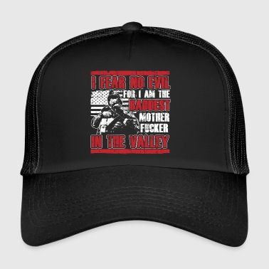 USA! Baddest Motherfucker! Patriot! - Trucker Cap