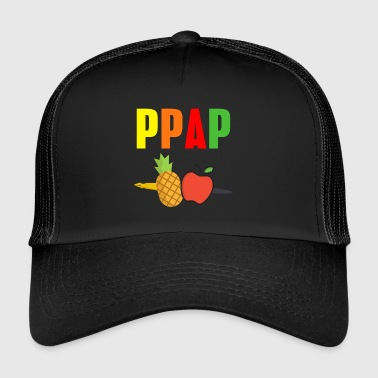 Apple Pineapple pen pen PinePineapple apple pen - Trucker Cap