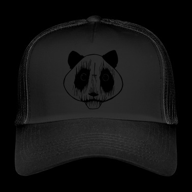 Black Metal Panda - Trucker Cap