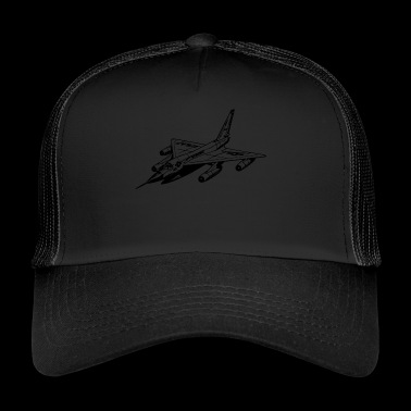fighter jet - Trucker Cap