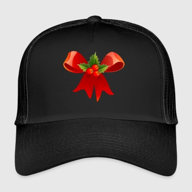 Christmas laurel bow - Trucker Cap