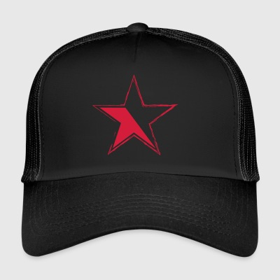 star for black garments - Trucker Cap