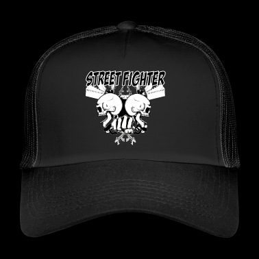 street fighter 2 - Trucker Cap