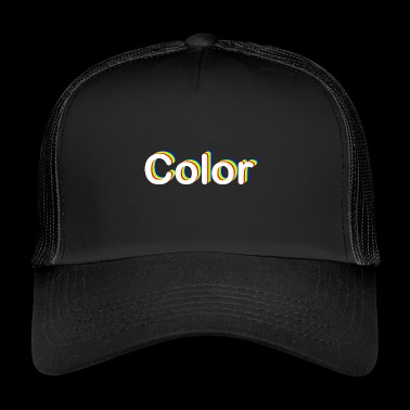 color - Gorra de camionero