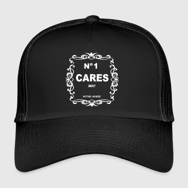 NO 1 CARES - Trucker Cap