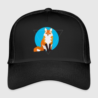 Geometric Fox - Trucker Cap
