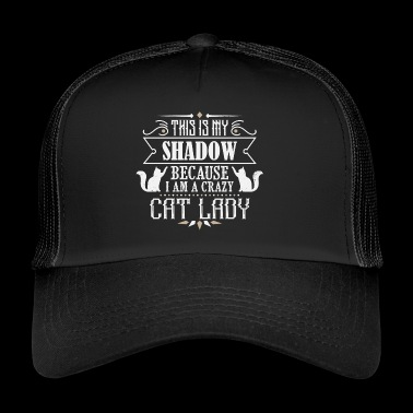 Crazy Cat Lady - cat - Trucker Cap