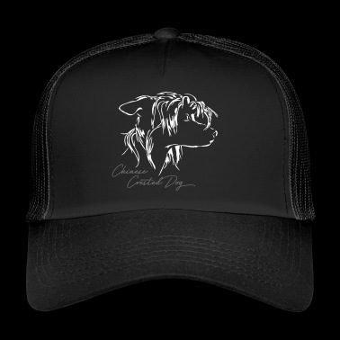 CHINESE CRESTED DOG - Trucker Cap